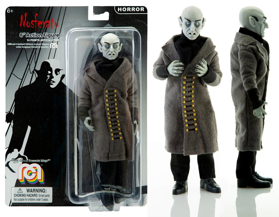 "Nosferatu Vampire Count Orlock 8"" Action Figure by Mego"