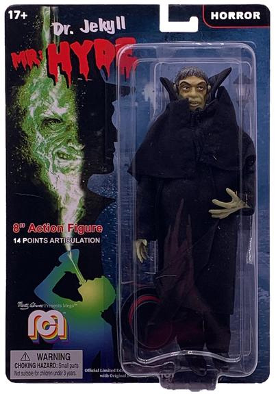 "Dr. Jekyll & Mr. Hyde - Mr. Hyde 8"" Mego Figure"