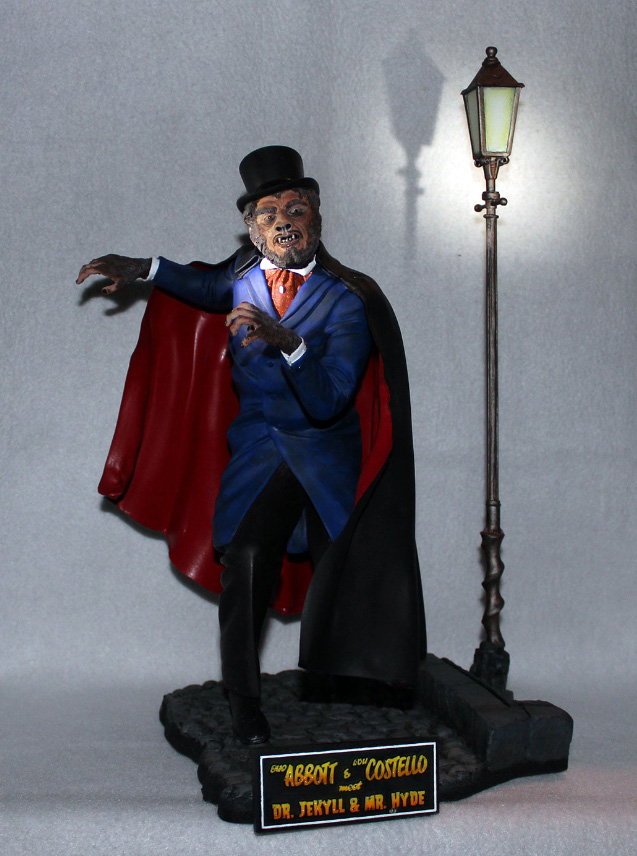 A.C. Mr. Hyde Resin Model Kit Sculpted by Jeff Yagher