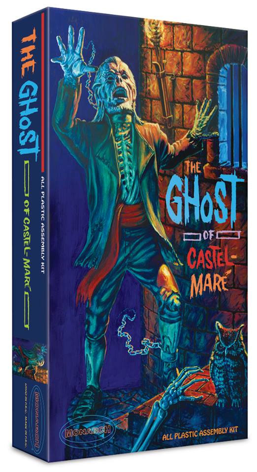 Ghost Of Castle-Mare Plastic Model Kit 2nd Issue Aurora Style