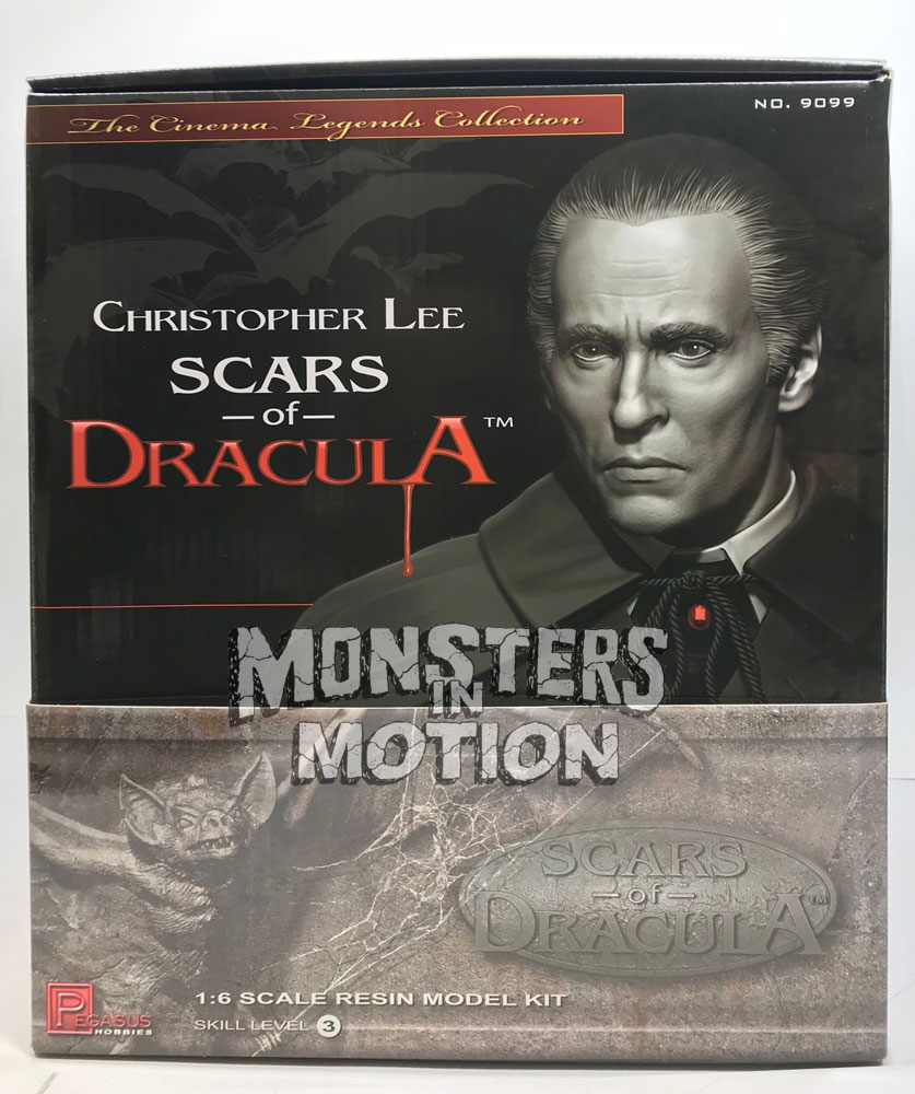 Scars Of Dracula Christopher Lee 1/6 Scale Resin Model Kit LIMITED EDITION - Click Image to Close
