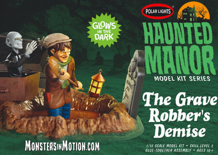 Haunted Manor: The Grave Robber's Demise Model Kit