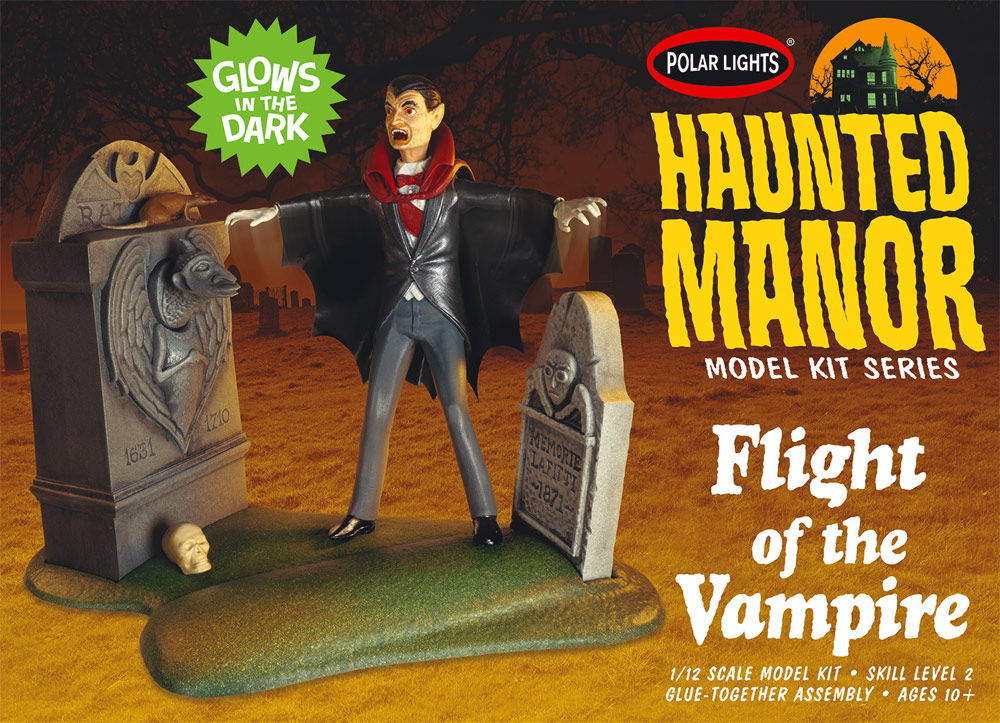 Haunted Manor: Flight of the Vampire Model Kit