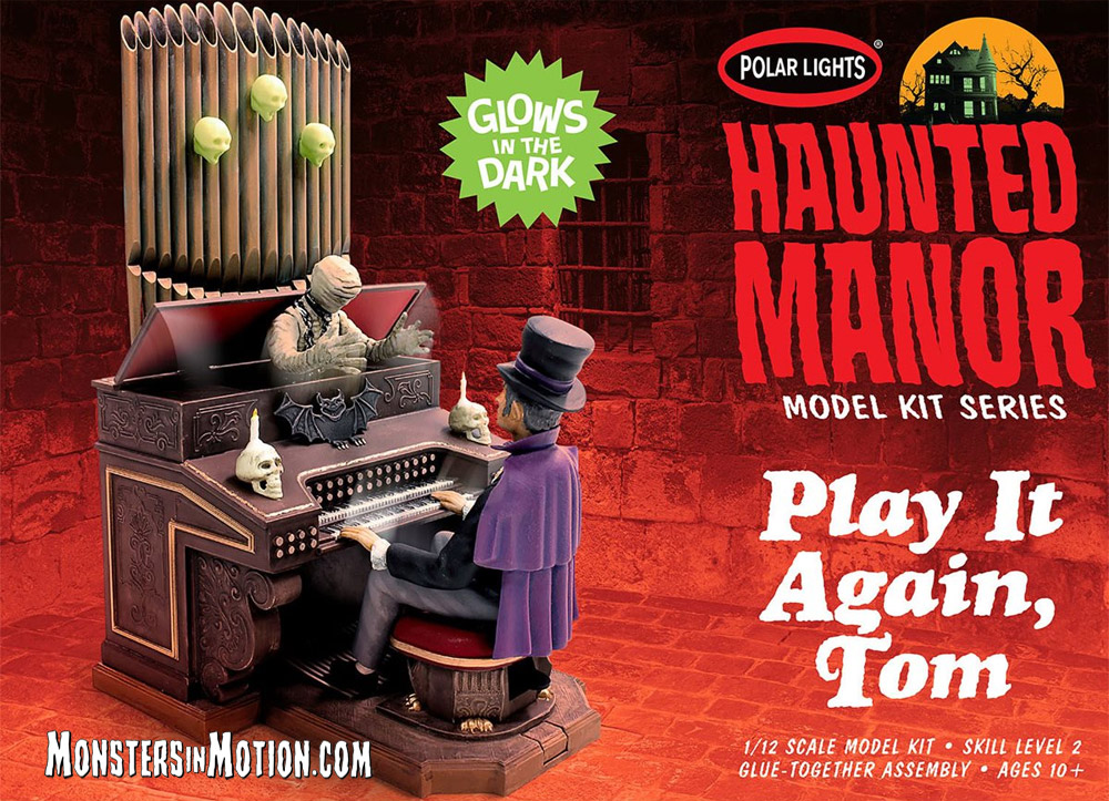 Haunted Manor: Play It Again, Tom! MPC Re-Issue Model Kit by Polar Lights