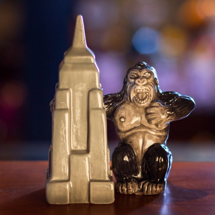 King Kong and Empire State Building Salt and Pepper Shakers