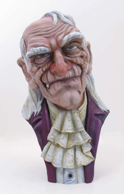 Uncle Creepy 1/3 Bust Model Hobby Kit