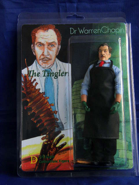 "Tingler, The Vincent Price 8"" Retro Mego Style Figure"