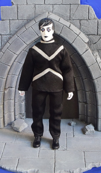 "Cabinet of Dr. Caligari Cesare 8"" Retro Mego Style Figure"