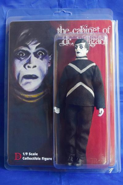 Cabinet Of Dr Caligari Cesare 8 Retro Mego Style Figure 051rh24