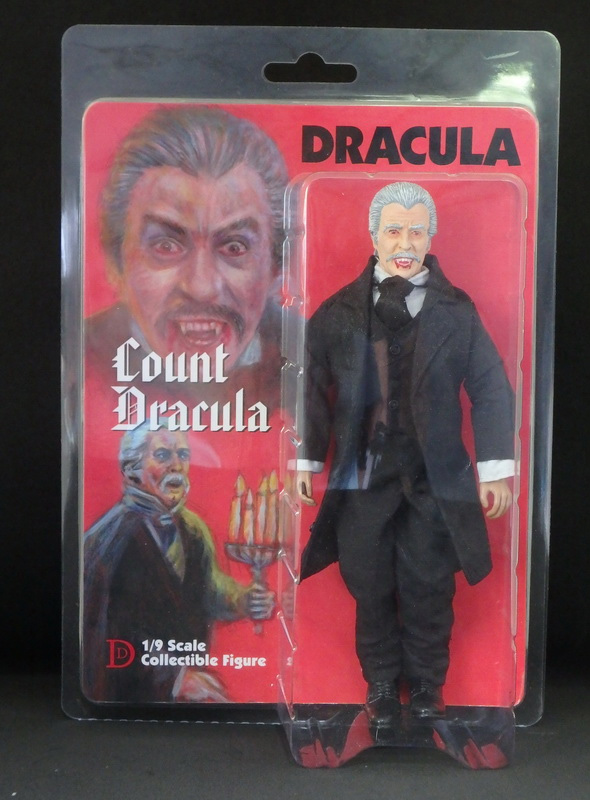 "Dracula 1970 Christopher Lee 8"" Retro Mego Style Figure Jess Franco"