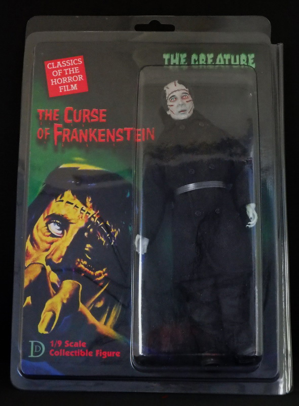"Curse of Frankenstein The Creature Christopher Lee 8"" Retro Mego Style Figure"