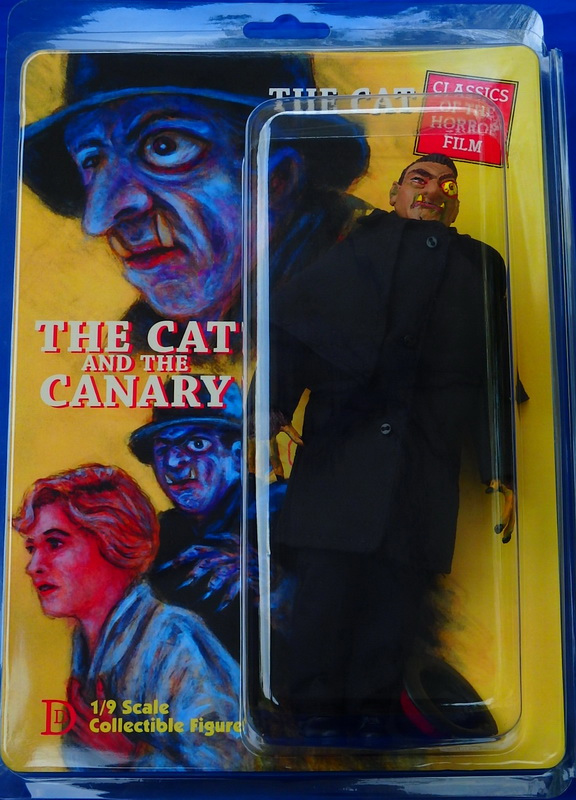 "Cat and the Canary The Cat 8"" Retro Mego Style Figure"
