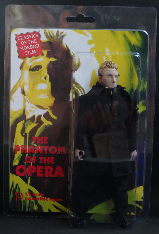 "Phantom of the Opera Herbert Lom 8"" Retro Figure"