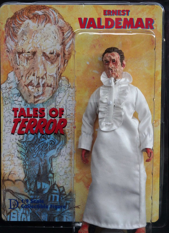 "Tales of Terror Vincent Price Ernest Valdemar 8"" Retro Figure"