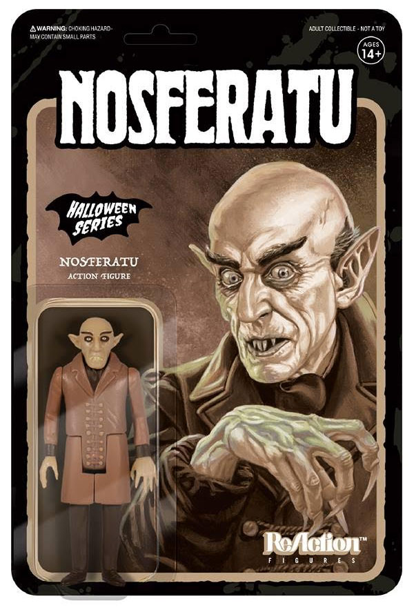 "Nosferatu Count Orlok ReAction 3.75"" Figure Sepia Edition"