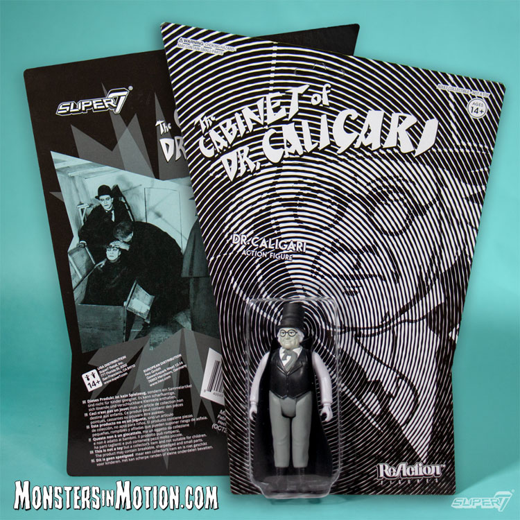 Cabinet of Dr. Caligari 3 3/4 Inch ReAction Figure
