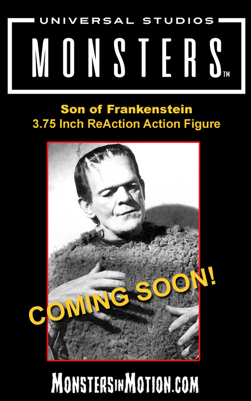 "Son of Frankenstein 3.75"" ReAction Action Figure Universal Monsters Wave 3"