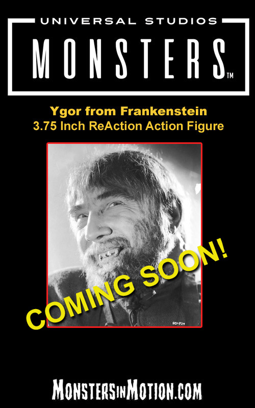 "Frankenstein Ygor 3.75"" ReAction Action Figure Universal Monsters Wave 3"