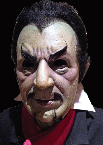 Bela Lugosi as White Zombie Halloween Mask