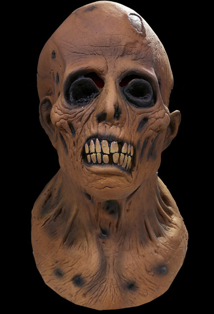 Tales From The Crypt Haunt of Fear Gram Ingles Ghastly Zombie Latex Halloween Mask EC COMICS