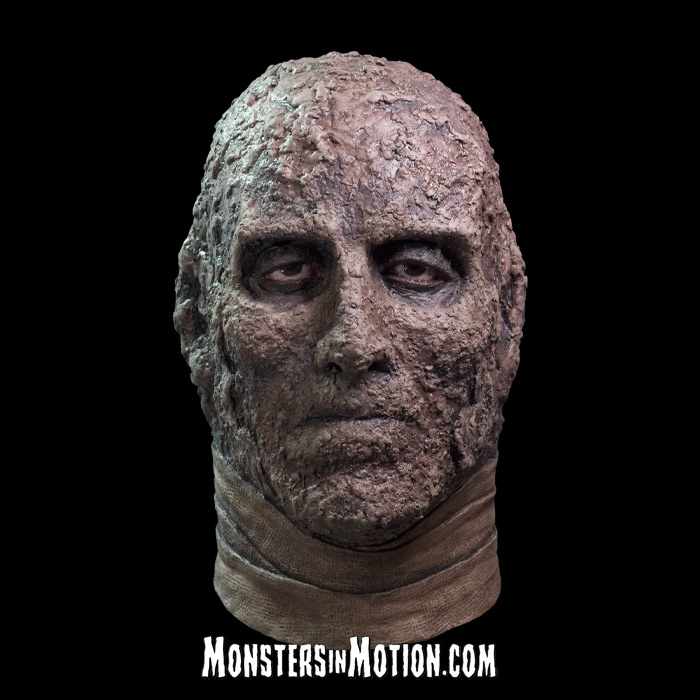 Mummy Hammer Horror Films Latex Pullover Collectors Mask Christopher Lee