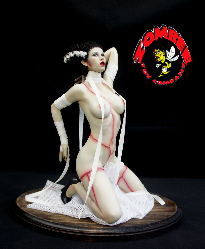 Bride Of The Monster 1/4 Scale Resin Model Kit by Zombee