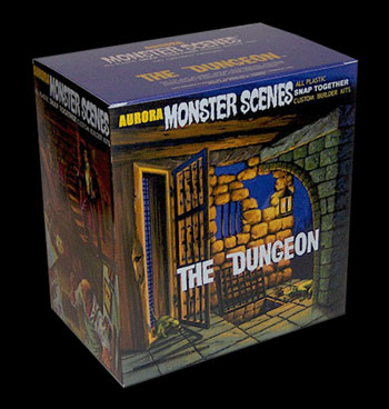 Monster Scenes Variety Pack Set of 5 Model Kits: Animal Pit, Feral Cat, Skeleton, Sabre-Toothed Rabbit and Dungeon