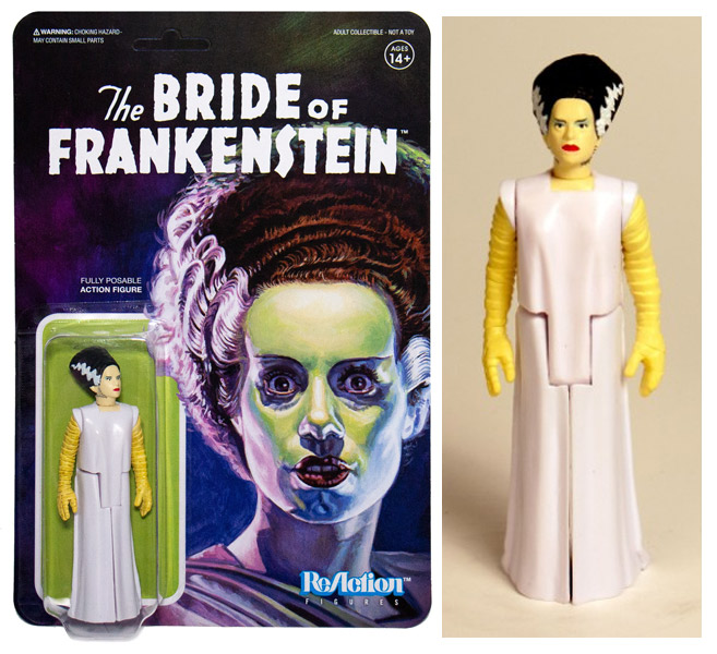 "Bride of Frankenstein Universal Monsters 3.75"" ReAction Action Figure"