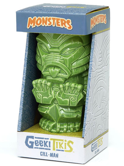 Creature from the Black Lagoon Gill-Man 18 oz. Universal Monsters Geeki Tiki Mug
