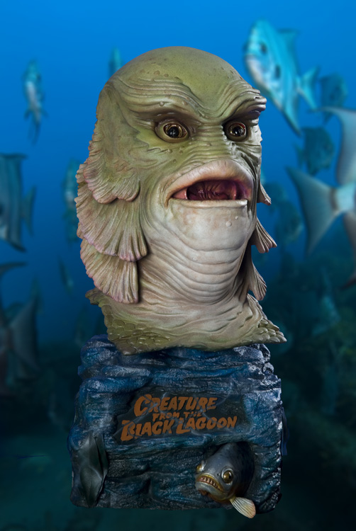Creature 18 Inch 1/2 Scale Big Head Bust Model Kit Jeff Yagher