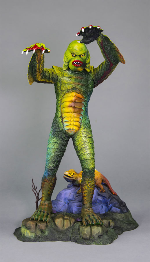 Creature From The Black Lagoon Aurora Box Art Tribute Model Kit #10 by Jeff Yagher - Click Image to Close