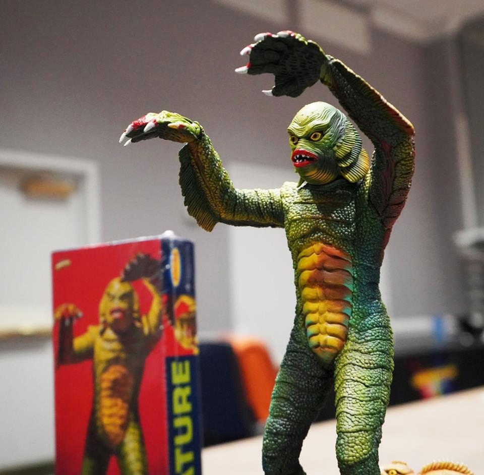 Creature From The Black Lagoon Aurora Box Art Tribute Model Kit #10 by Jeff Yagher