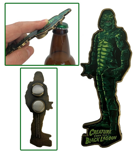 Creature from the Black Lagoon Magnet Bottle Opener