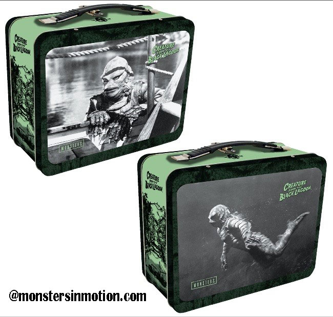 Creature From The Black Lagoon Tin Tote Lunchbox