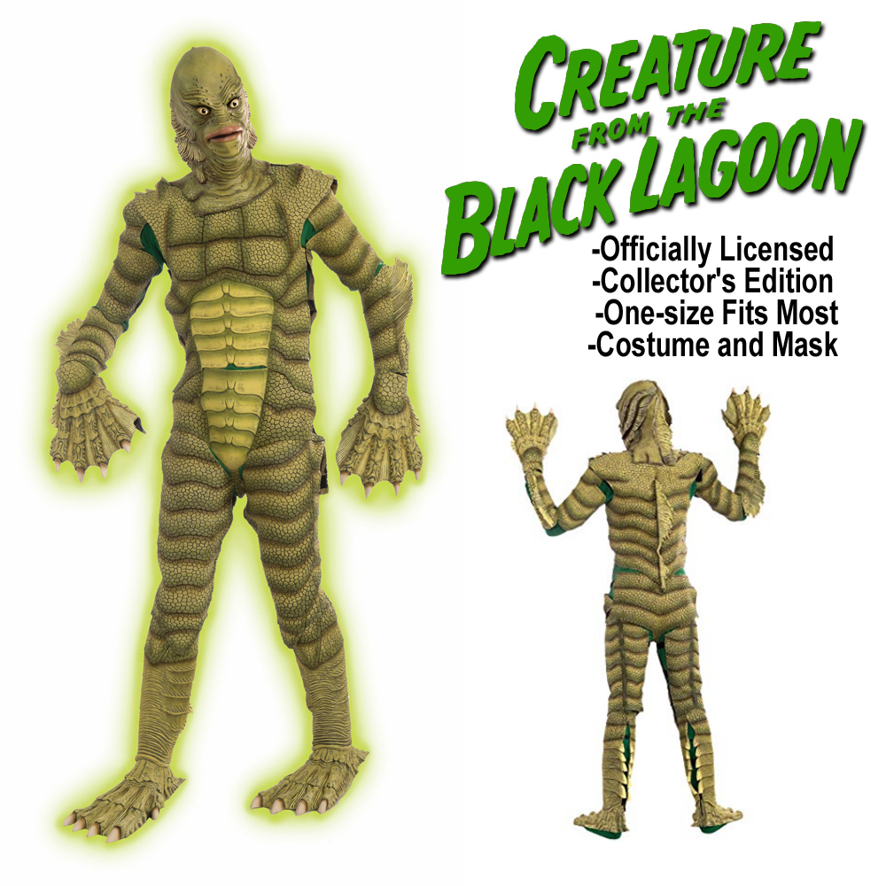 Creature From The Black Lagoon Deluxe Costume and Mask by Forum