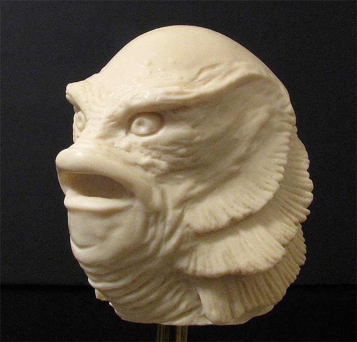 Creature from the Black Lagoon Small Shifter Knob Model Kit