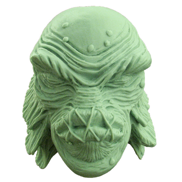 Creature from the Black Lagoon Shrunken Head Large Shifter Knob Model Kit