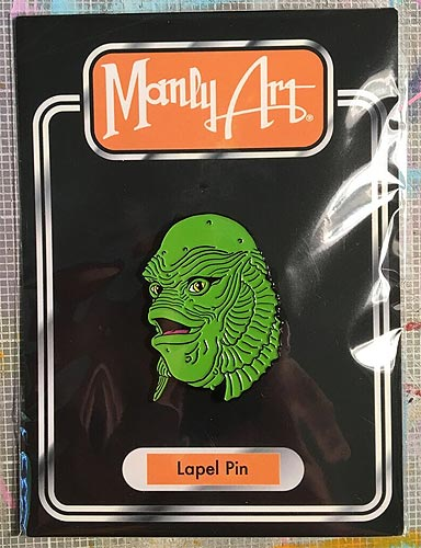 Creature From The Black Lagoon Happy Creature Enamel Pin-FREE SHIPPING IN THE U.S.A.