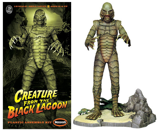Creature From The Black Lagoon Version #2 Model Kit-Moebius
