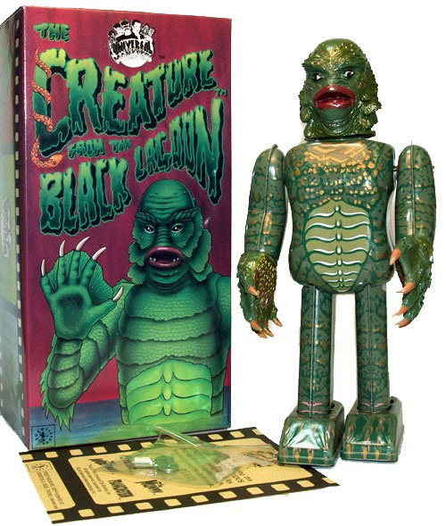 Creature From The Black Lagoon Tin Toy Wind Up