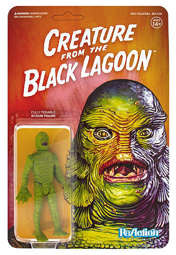 "Creature from the Black Lagoon 3.75 "" ReAction Figure Universal Monsters Series"