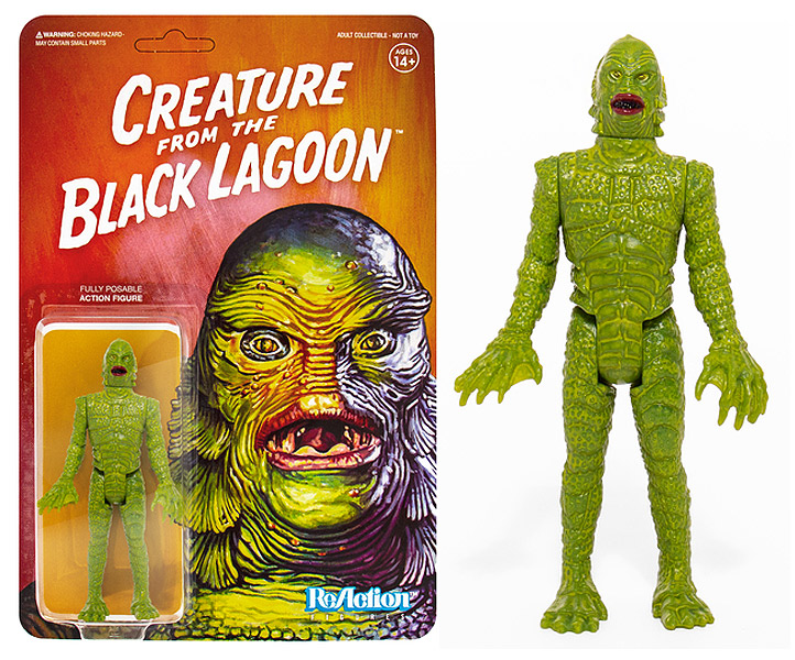 "Creature from the Black Lagoon 3.75"" ReAction Figure Universal Monsters Series"