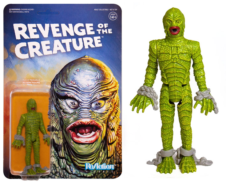 "Revenge of the Creature from the Black Lagoon Universal Monsters 3.75"" ReAction Action Figure"