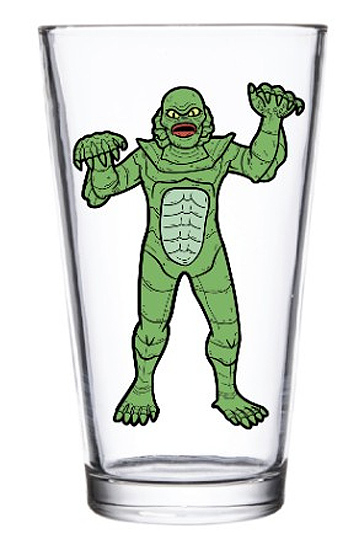 Creature from the Black Lagoon Universal Monsters Pint Glass