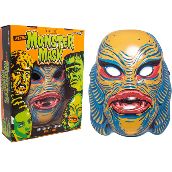 Creature From The Black Lagoon Mask (Yellow) Universal Monsters