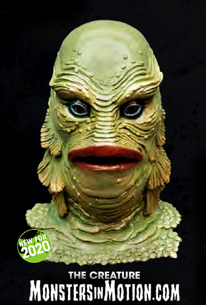 Creature From The Black Lagoon Deluxe Latex Collector's Mask Universal Studios Monsters