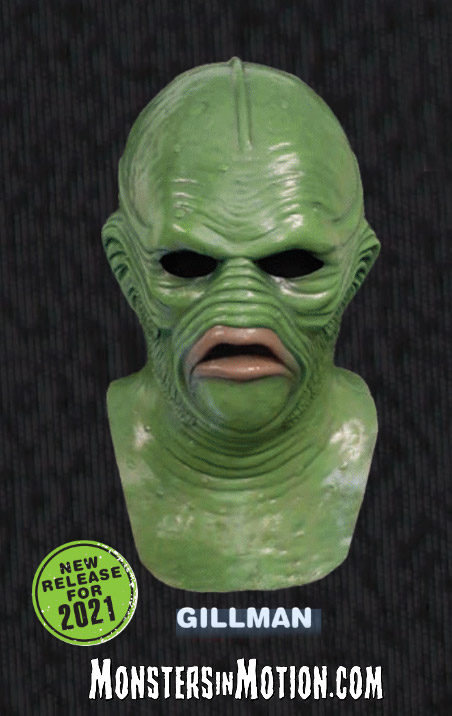 Creature Walks Among Us Gillman Latex Collector's Mask Creature From the Black Lagoon