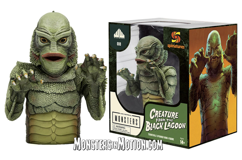 Creature from the Black Lagoon Universal Monsters Spinature Vinyl Record LP Spinner Bust