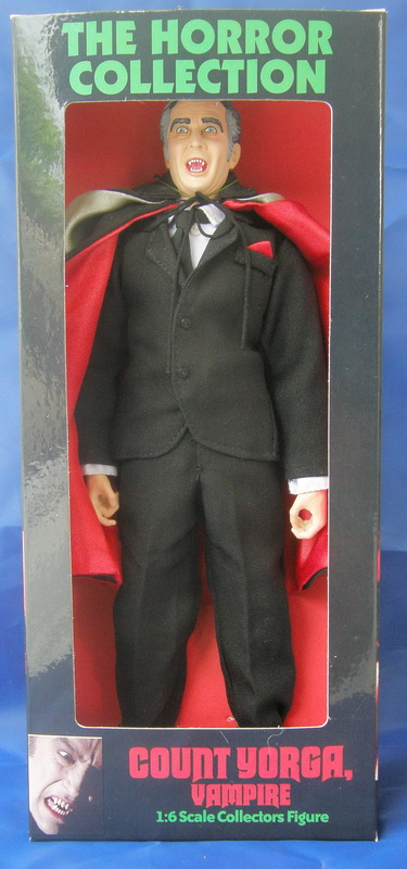"Count Yorga, Vampire 12"" Custom Fan Art Figure"
