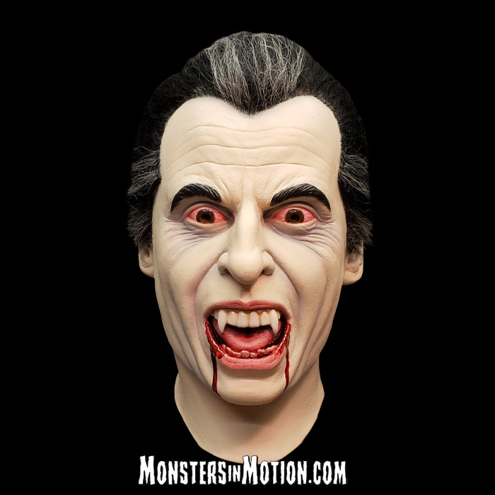 Dracula Hammer Horror Films Christopher Lee Deluxe Latex Collector's Mask
